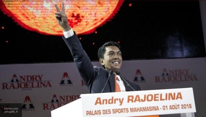 На инаугурации Раджоэлины присутствовали трое экс-президентов Мадагаскара