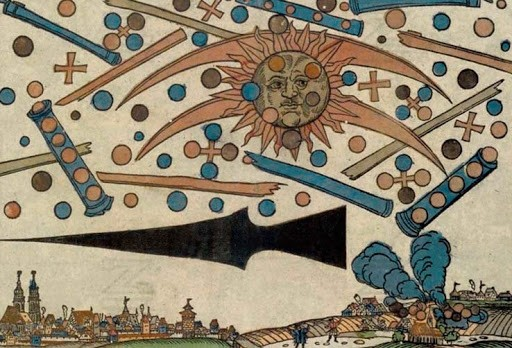 Небесное сражение над Нюрнбергом 14 апреля 1561 года