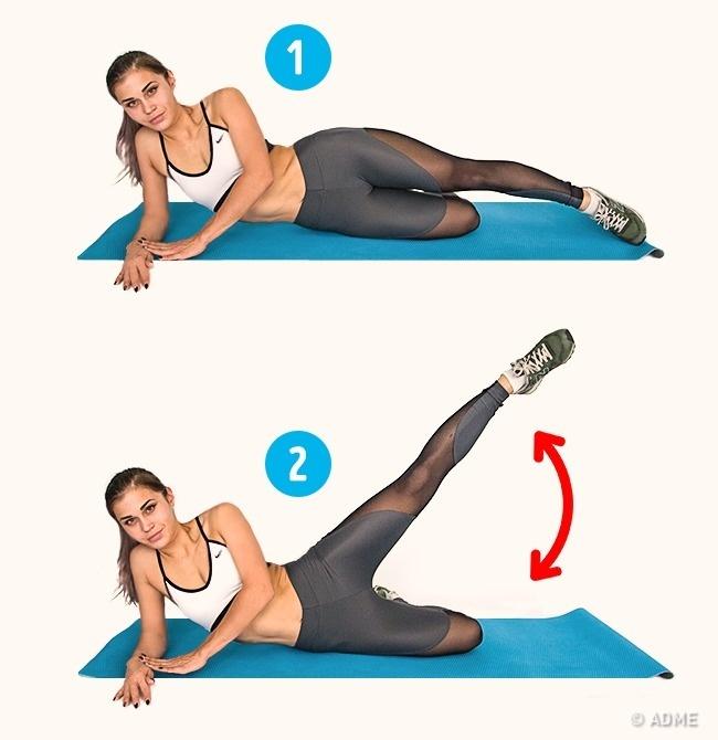 6 упражнений, которые помогут уменьшить целлюлит за 2 недели