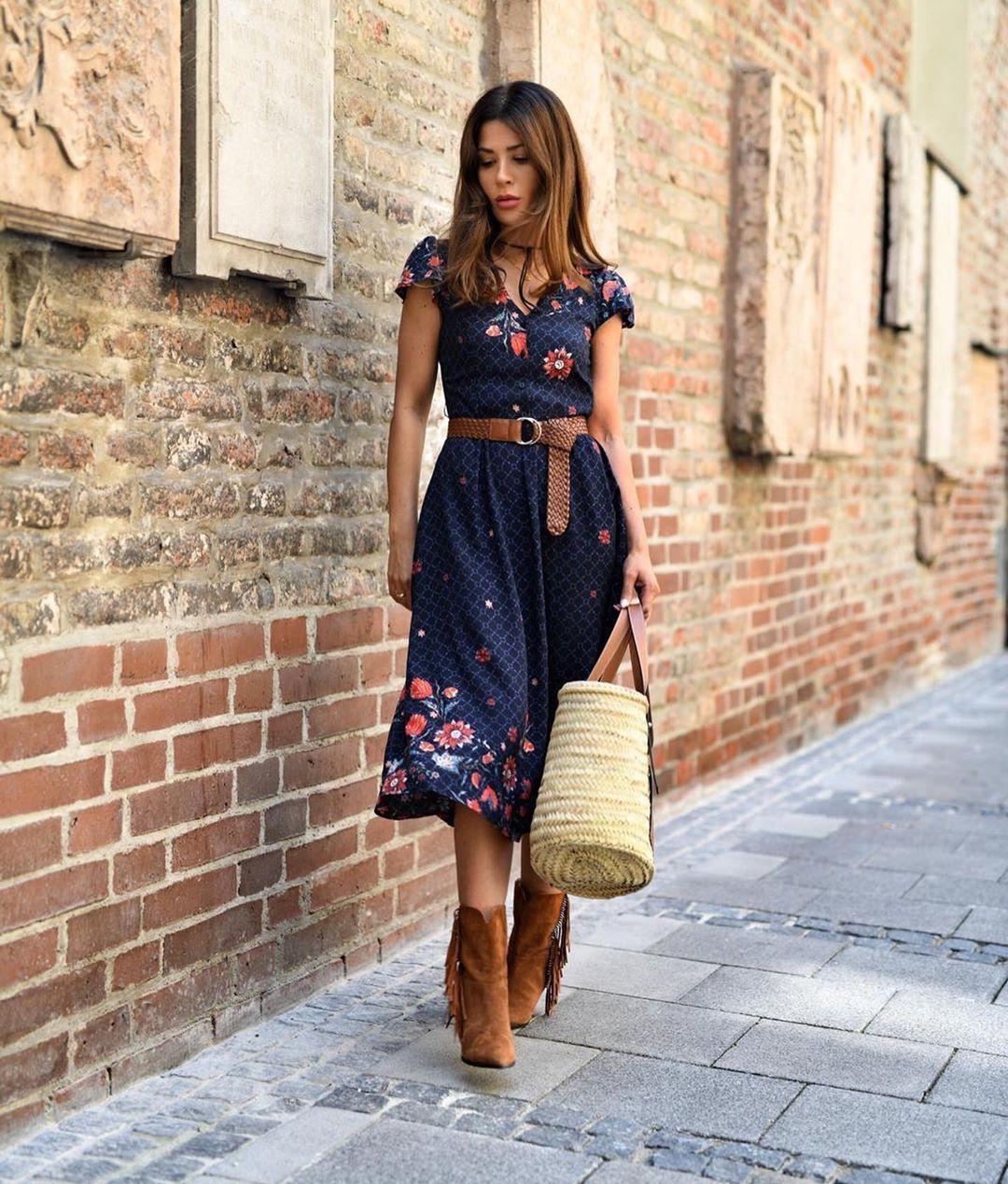 Неповторимый образ - 9 прекрасных примеров пправильного подбора аксессуаров к летнему платью мода,модные советы,Наряды,образ,Платья,стиль