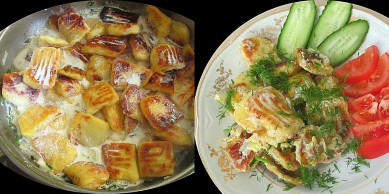 Картофельные клецки в сливочном соусе: кулинарный шедевр из 18 века