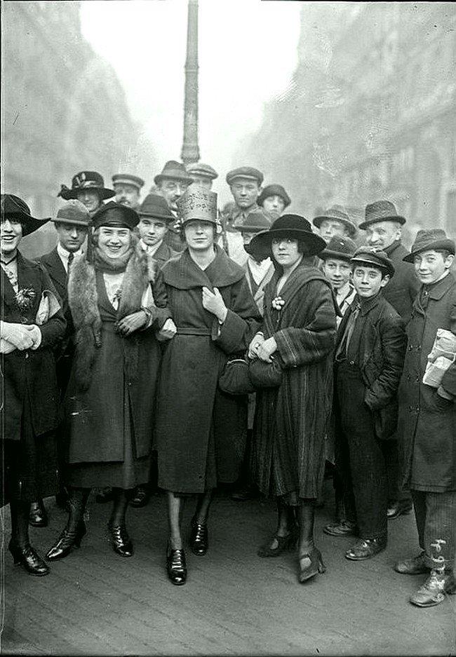 Парижане 1909 года Весь Мир в объективе, ретро, старые фото