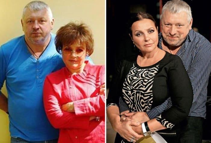 Актриса с третьим супругом, Игорем Воробьевым   Фото: 7days.ru, stuki-druki.com