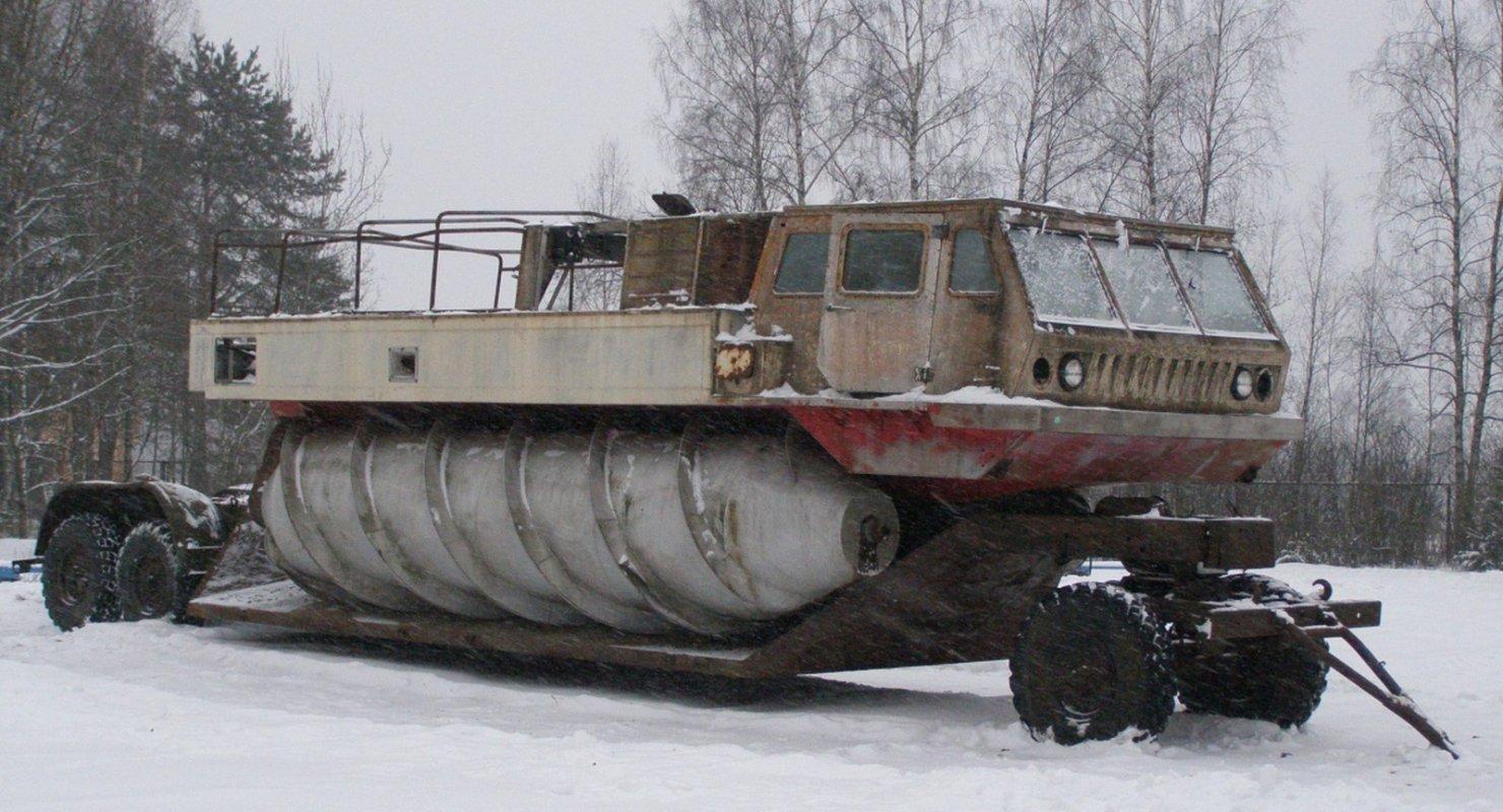 Вездеходы, разработанные советскими инженерами специально для космонавтов Автомобили