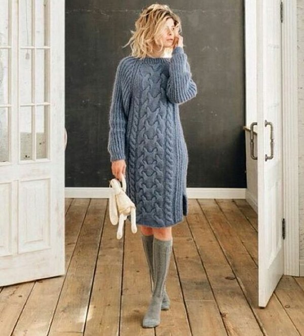 Теплые платья на осень. Супер подборка для настоящих модниц