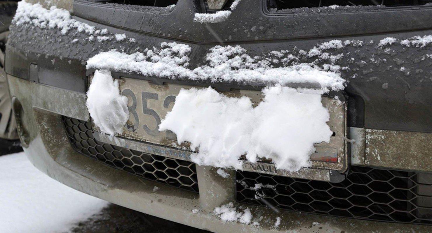 В ГИБДД напомнили об ответственности за не читаемые номера Автомобили