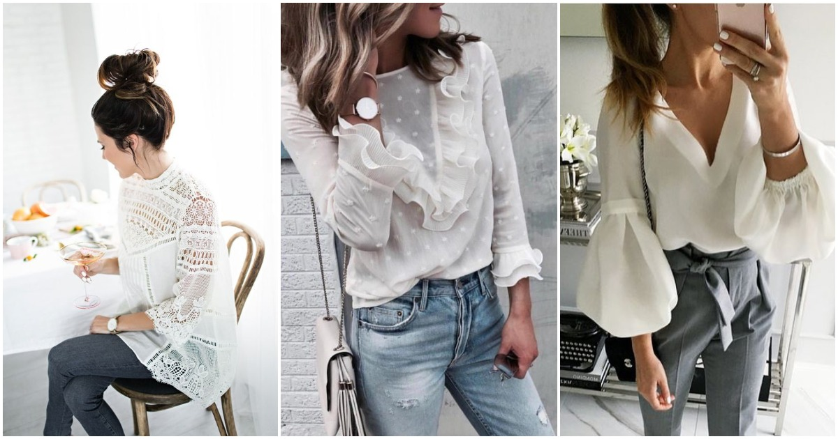 Тренд сезона: яркие блузки осени 2018