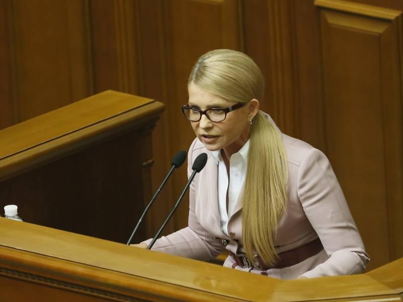 Юлия Тимошенко грозит Порошенко импичментом