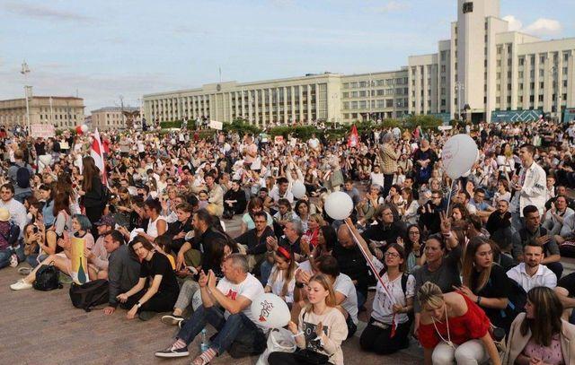 О реальной численности и потенциале протестов в Белоруссии
