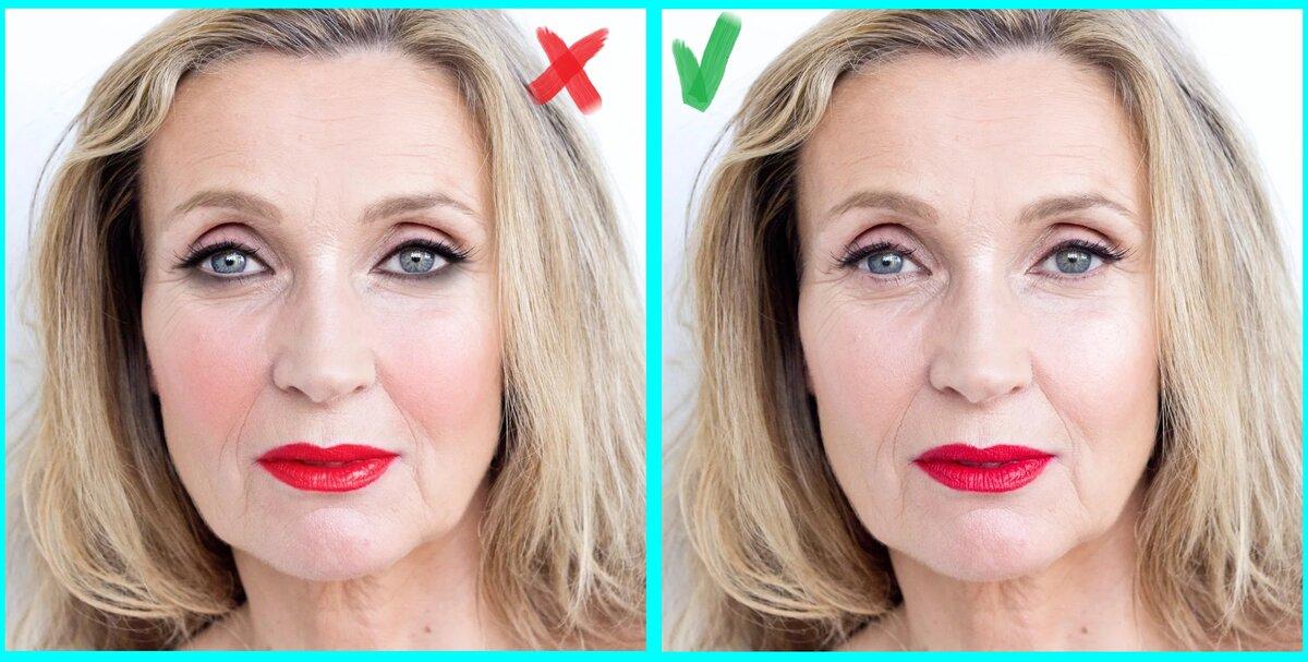 Уже за 60, а вкуса так и нет: признаки безвкусицы в повседневном макияже, которые я вижу чаще всего