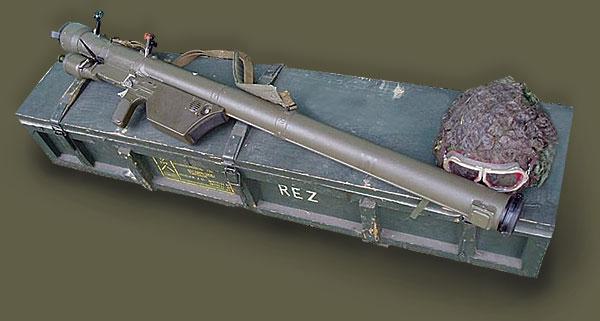 ПЗРК «Lyuftfaust»  1944 г. оружие