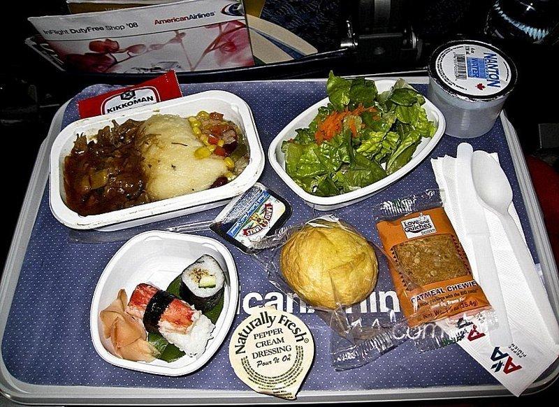 Авиакомпания American Airlines сэкономила 40.000$ в 1987 году, уменьшив количество оливок на одну в салатах для первого класса. информация, картинки, факты