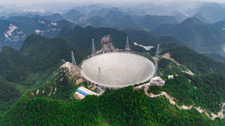 В Китае построили телескоп для поиска внеземной жизни