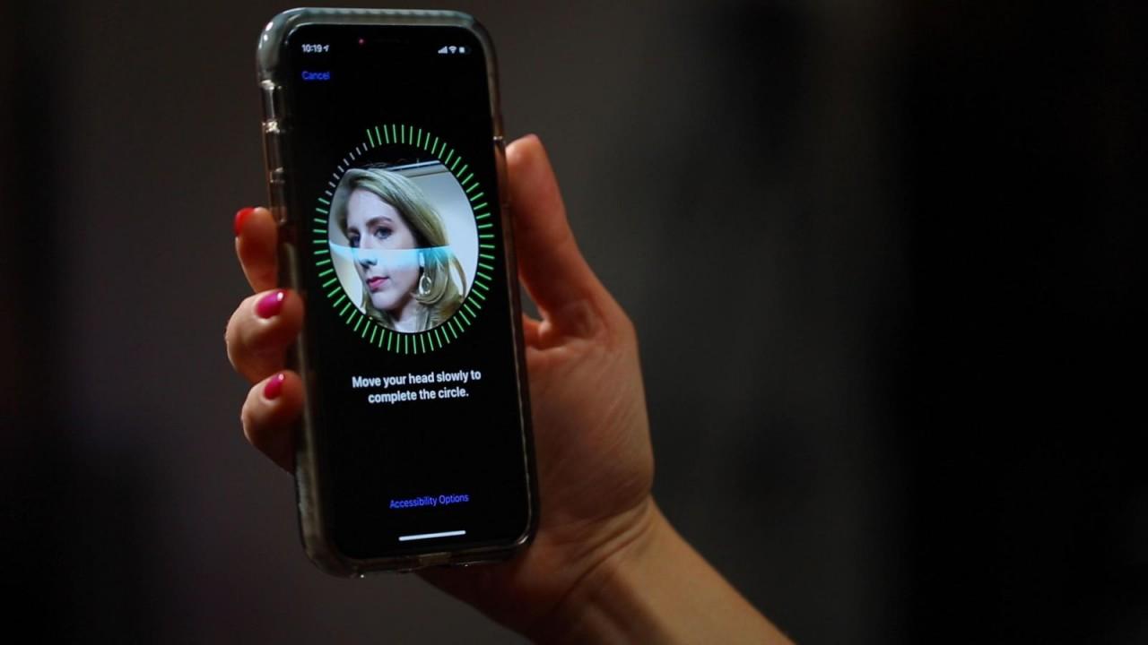Android Q может получить технологию, аналогичную Apple Face ID android