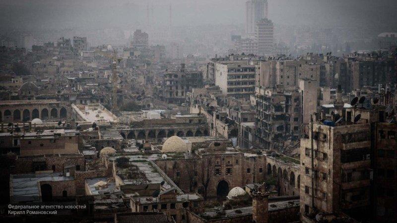 ЦПВС сообщает об атаке боевиков на позиции правительственных войск в Алеппо