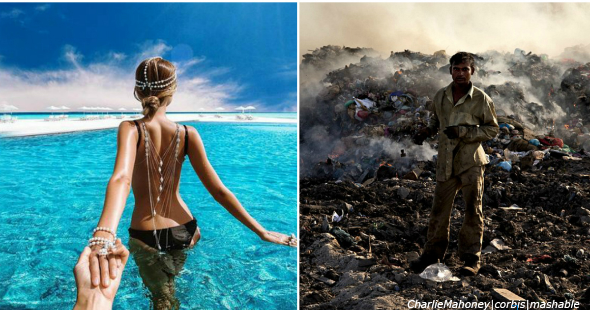 «Рай оказался адом»: фото Мальдив, какими вам их ни за что не покажут