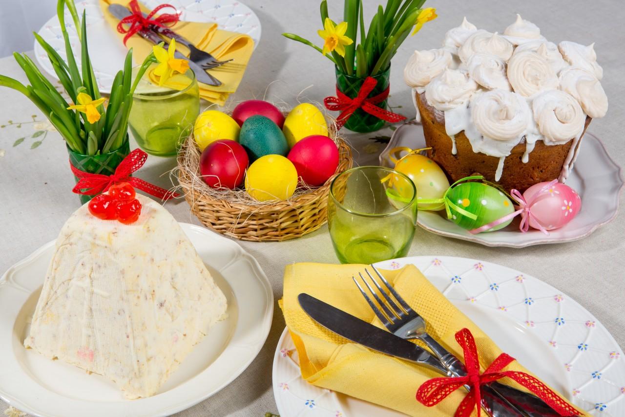 Как накрыть пасхальный стол: особенности пасхальной трапезы