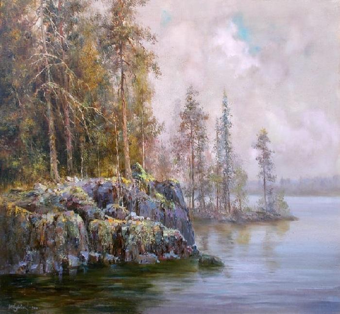 Лучезарный мир пейзажей, пронизанных солнцем: Художник Юрий Обуховский