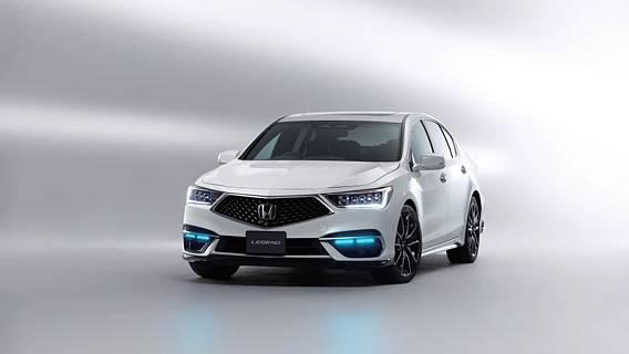 Автономный седан Legend от Honda – большой шаг на пути к развитию автономных технологий