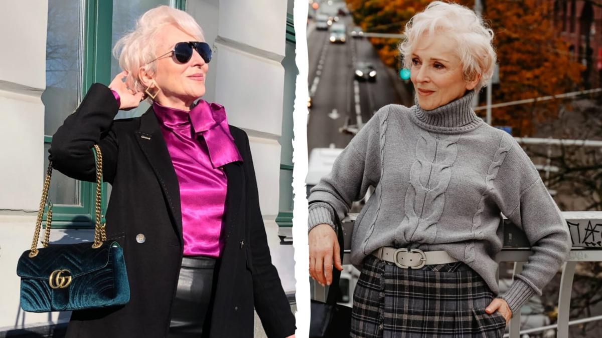 71-летняя модель из Минска Ольга Шатыко: 6 образов, нетипичных для пожилых женщин
