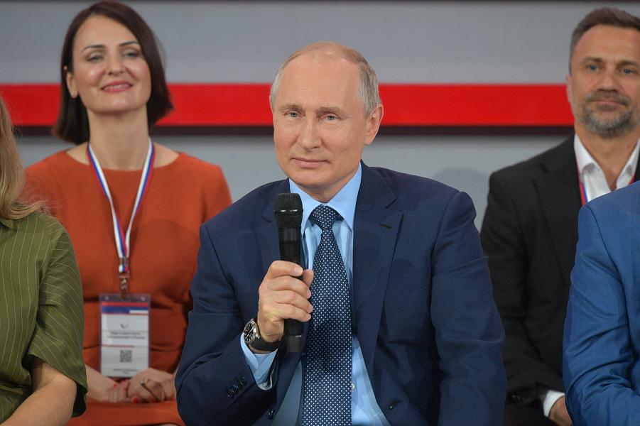 Новая демократия Путина! Вы обратили внимание?