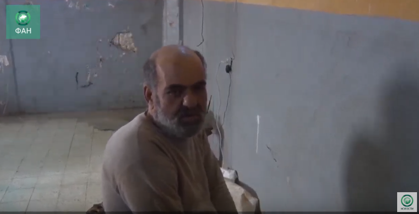 Опубликовано видео допроса боевика «Хайят Тахрир аш-Шам»