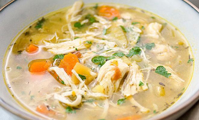 Секреты приготовления пряного куриного супа
