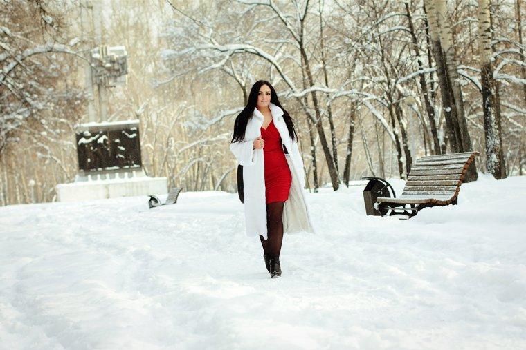 Идеи зимней городской фотосессии на улице фото
