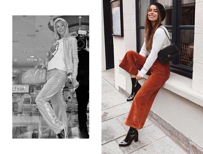 Велюровые брюки 2000-х фото
