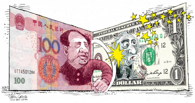 Слабость — это сила. С таким юанем никакой доллар не страшен!