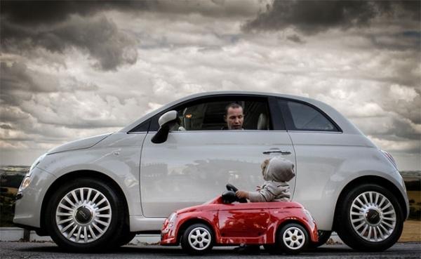 20 самых трогательных фотографий отношений отца и сына.