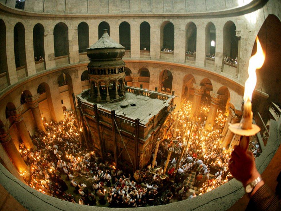 Храм гроба Господня в Иеруса…