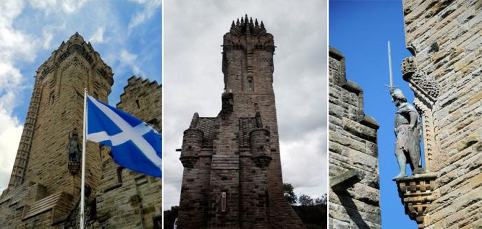 Монумент Уоллеса построен в неоготическом стиле и рассказывает о славном прошлом Шотландии