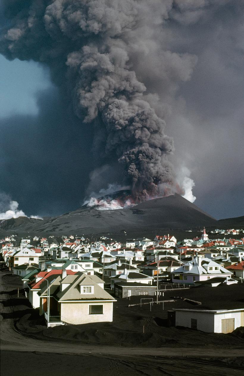 Вулкан едва не уничтожил город в Исландии, но в итоге жители были ему благодарны Путешествия,фото