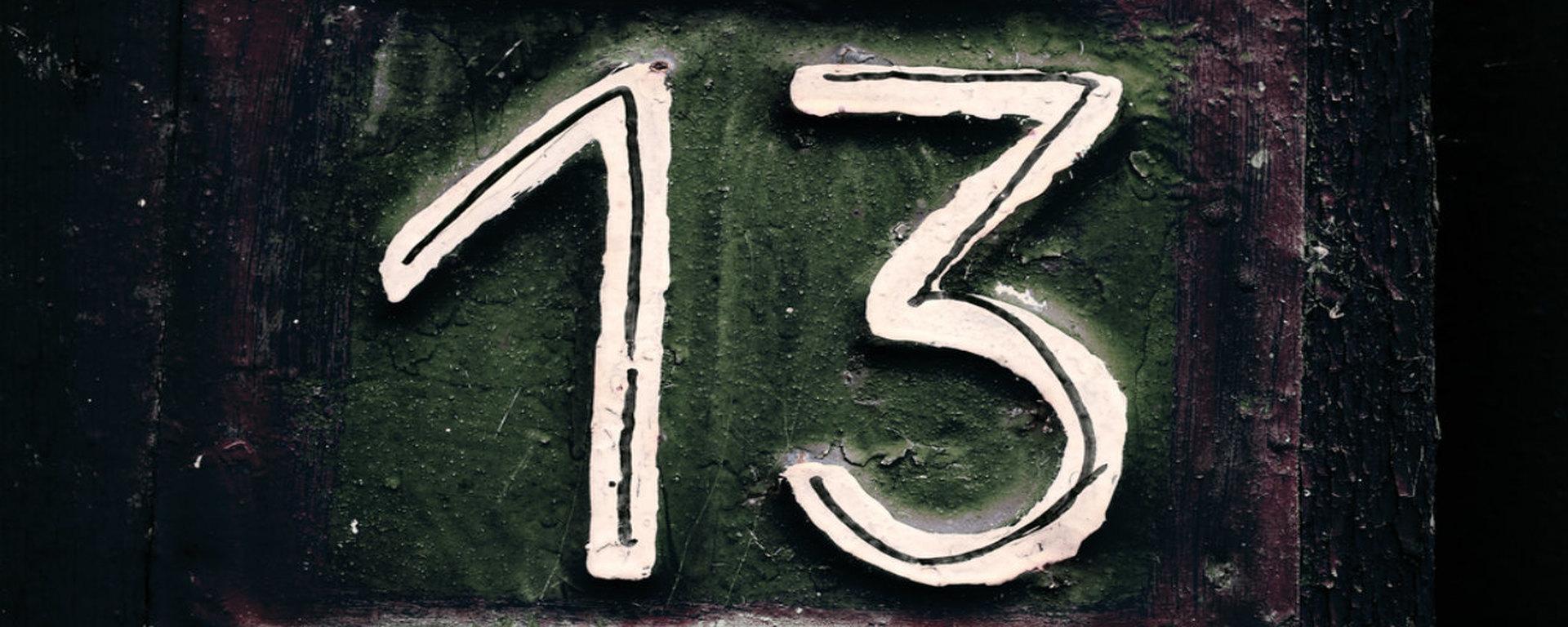 Чем так страшно и привлекательно число 13