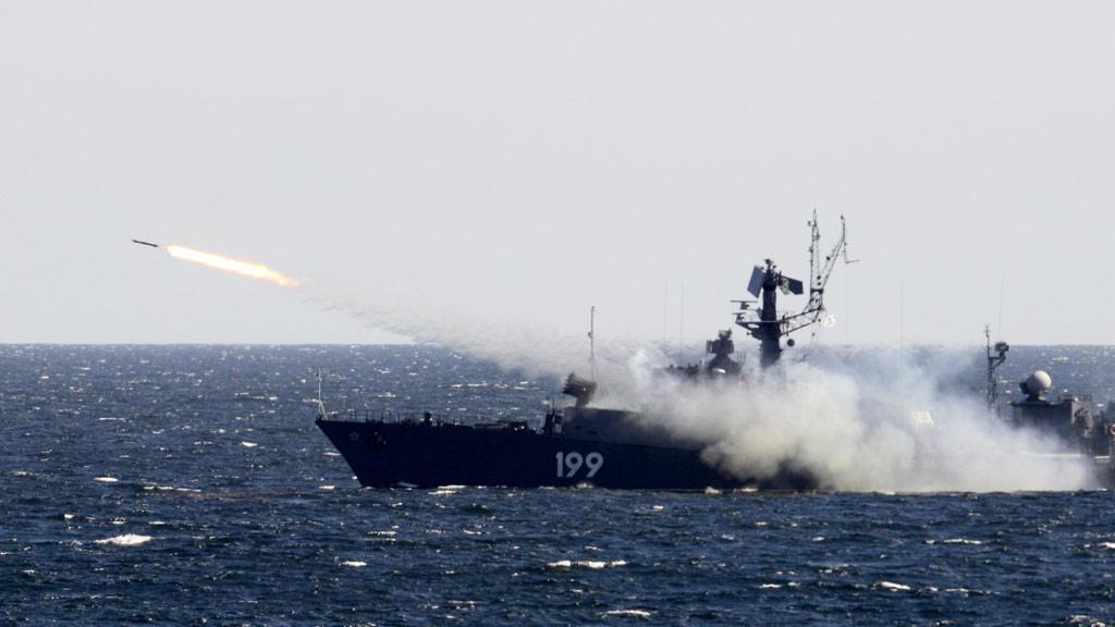 ВМФ Российской Федерации условно уничтожили флот противника в Черном море. Источник изображения: