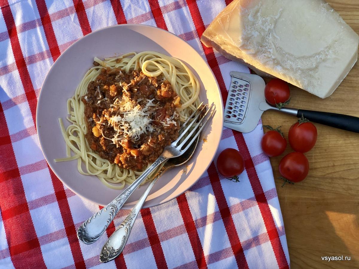 Золотой стандарт болоньезе от Марчеллы Хазан кухни мира,паста