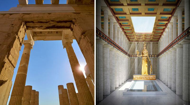 Как выглядели внутри древние памятники архитектуры, от которых сейчас остались одни развалины
