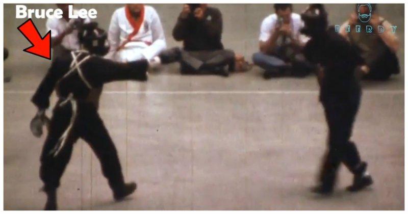 В Сети опубликовали уникальную видеозапись реального боя Брюса Ли