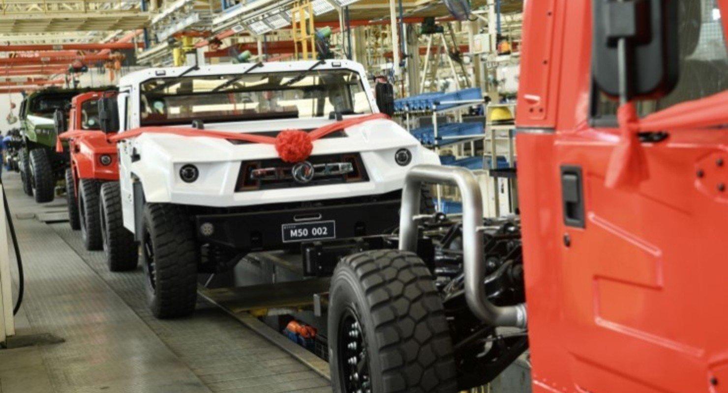 Китайский Hummer начали продавать по безумной цене Автомобили