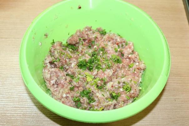 Чебуреки с рисом