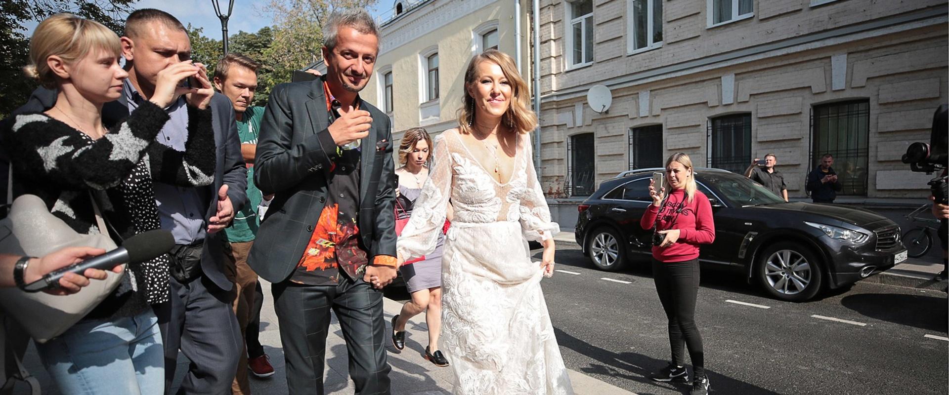 Экстравагантная свадьба Собчак и Богомолова
