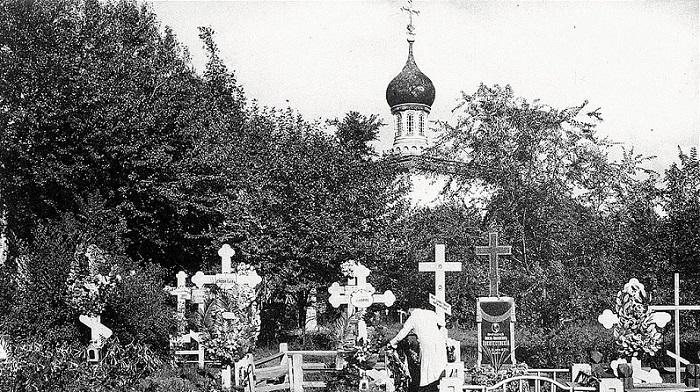 Русское кладбище в Харбине.