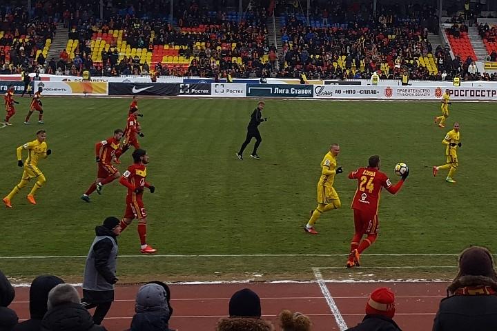«Ростов» и «Арсенал» в морозной Туле сыграли вничью 2:2