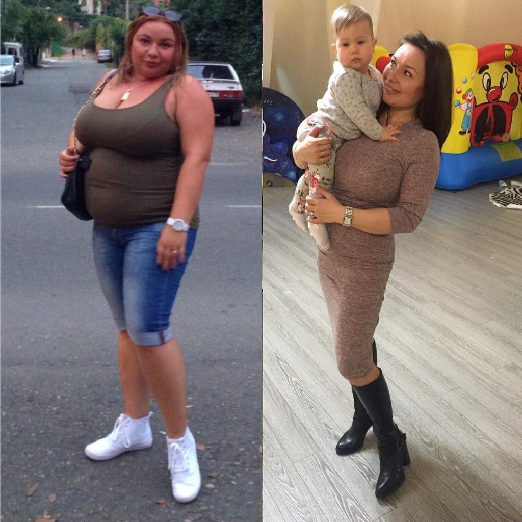 Результаты реального похудения