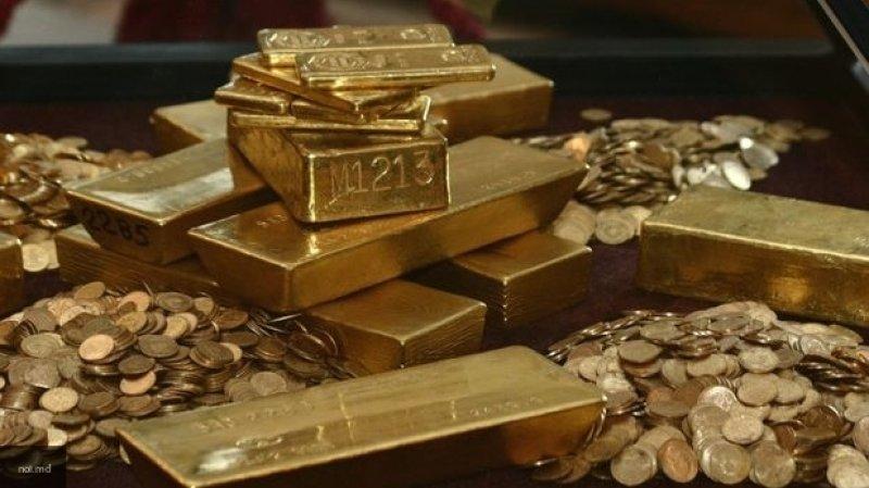 Российская антидолларовая политика по золоту выгодна Швейцарии