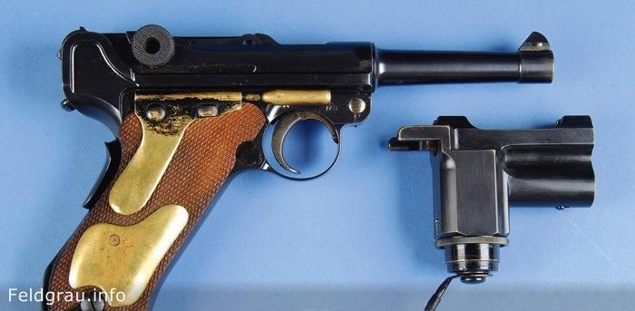 Luger P08 «Nachtpistole» - п…