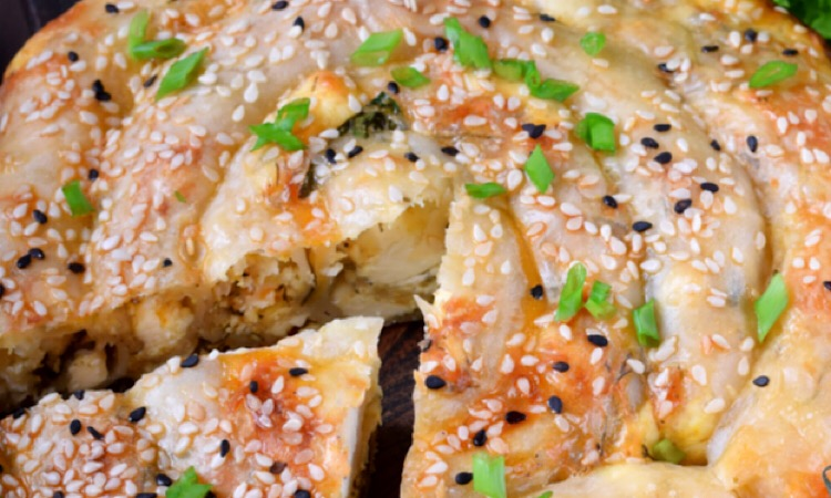 Мега аппетитный бурек с сыром