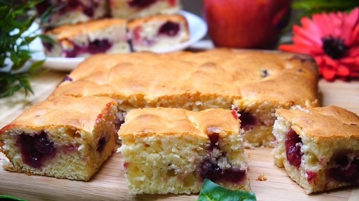 Быстрый пирог к чаю Пирог, Рецепт, Видео рецепт, Еда, Видео