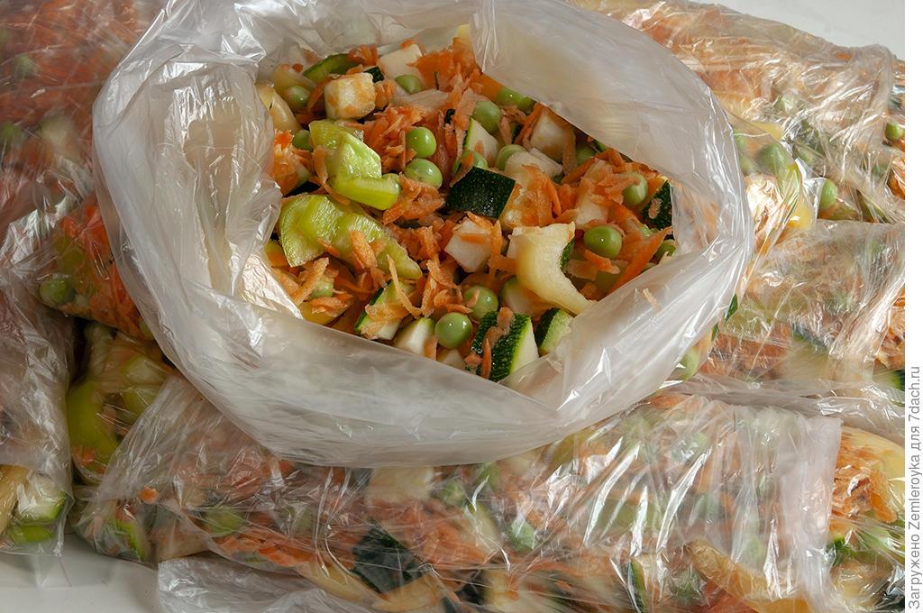 Все овощи в дело! Суповые наборы для заморозки из того, что под рукой готовим дома,заготовки,урожай